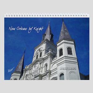 New Orleans by Knight III Wall Calendar