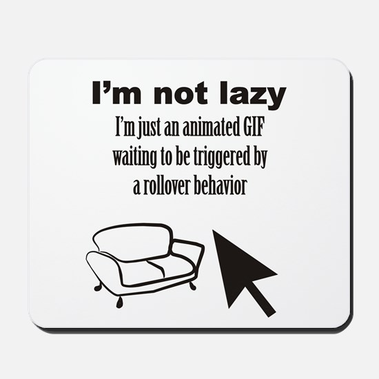 Animated GIF Mousepad