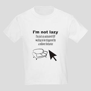 Animated GIF Kids Light T-Shirt