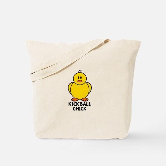 Kickball Chick Tote Bag