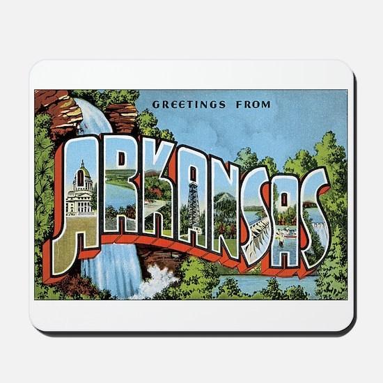 Arkansas US Mousepad