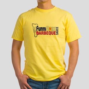 FunniBonz Yellow T-Shirt