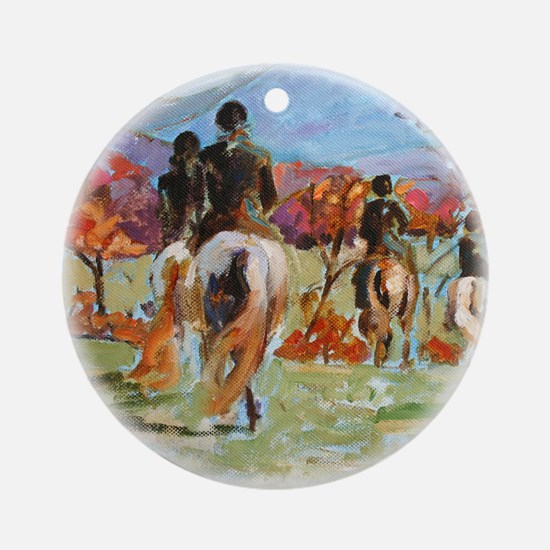 Rockbridge Hunt Landscape, I - Ornament (Round)