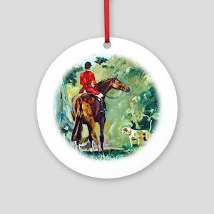 Hunt Landscape, II - Ornament (Round)