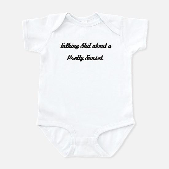 Talking Shit... Infant Bodysuit