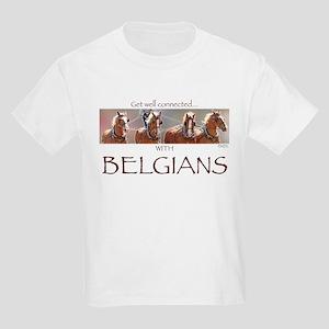 4 Abreast Belgians Kids Light T-Shirt