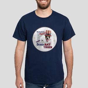 DemocRAT TERRIER Dark T-Shirt