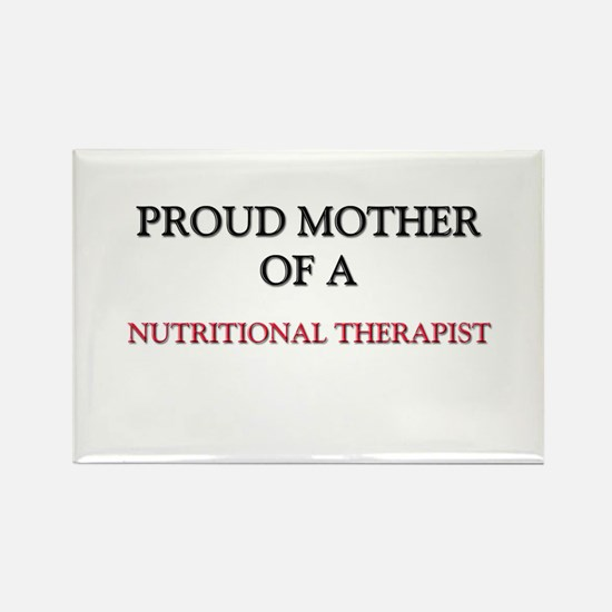 Proud Mother Of A NUTRITIONAL THERAPIST Rectangle