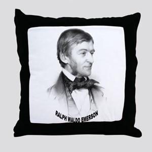 Ralph Waldo Emerson Throw Pillow