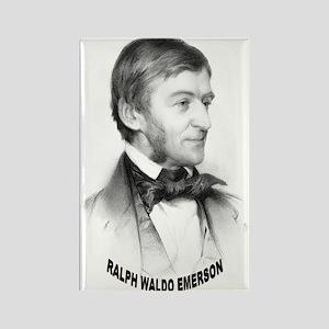 Ralph Waldo Emerson Rectangle Magnet