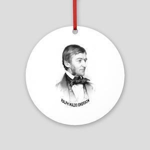 Ralph Waldo Emerson Ornament (Round)