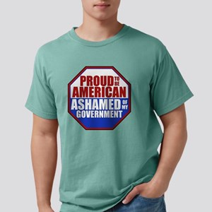Proud to be American Ashamed of my Governm T-Shirt