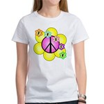 Peace Blossoms /pink Women's T-Shirt