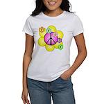 Peace Blossoms /pink Women's T-Shirt