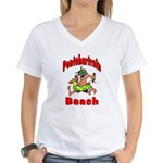 Pontchartrain Beach Women's V-Neck T-Shirt