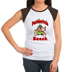 Pontchartrain Beach Women's Cap Sleeve T-Shirt