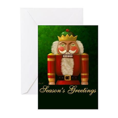 Christmas Nutcracker Greeting Cards (Pk of 10)
