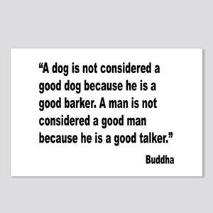 Buddha Good Talker Quote Postcards (Package of 8)