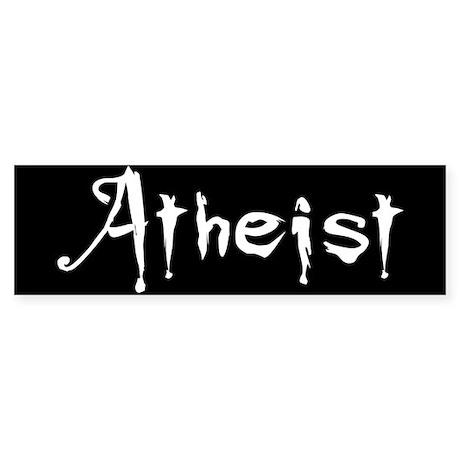 Atheist Bumper Sticker (10 pk)