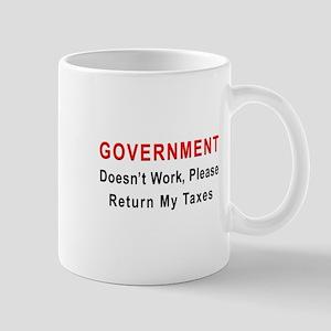 Government doesn't work Mug