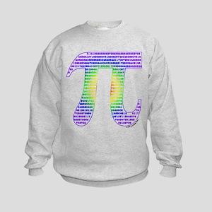 Evan's Pi #2 Kids Sweatshirt