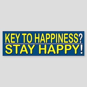 Stay Happy - Bumper Sticker