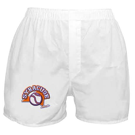 Syracuse Baseball Boxer Shorts