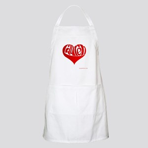 Lauren (Red Heart) BBQ Apron