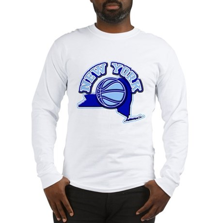 New York Basketball Long Sleeve T-Shirt