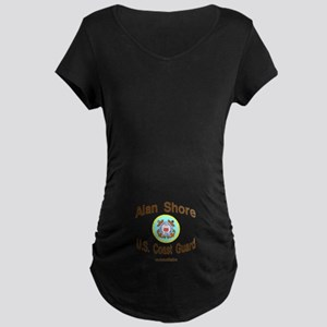 ALAN COAST GUARD Maternity Dark T-Shirt