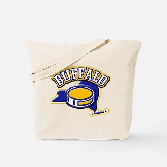 Buffalo Hockey Tote Bag