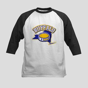 Buffalo Hockey Kids Baseball Jersey