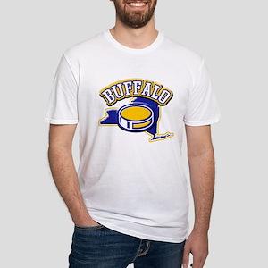 Buffalo Hockey Fitted T-Shirt