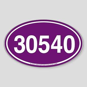 30540-GHS Oval Sticker