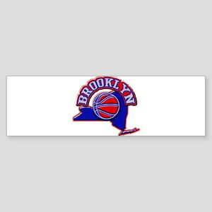 Brooklyn Basketball Bumper Sticker