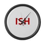 ISH Large Wall Clock