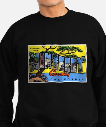 Monterey County California Sweatshirt (dark)