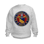 USS JULIUS A. FURER Kids Sweatshirt