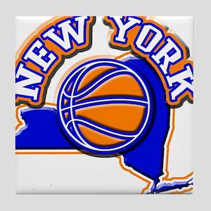 New York Basketball Tile Coaster