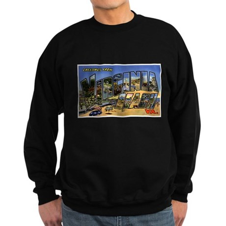 Virginia Beach Greetings Sweatshirt (dark)