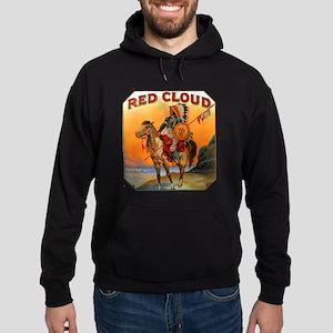 Red Cloud Indian Chief Hoodie (dark)