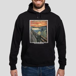 Edvard Munch Scream Hoodie (dark)