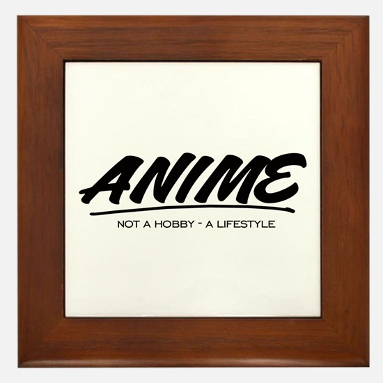 anime/ manga Framed Tile