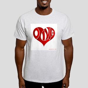 Olivia (Red Heart) Light T-Shirt