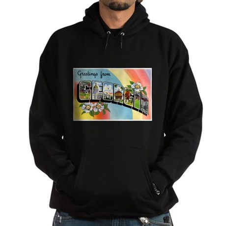 Georgia Greetings Hoodie (dark)