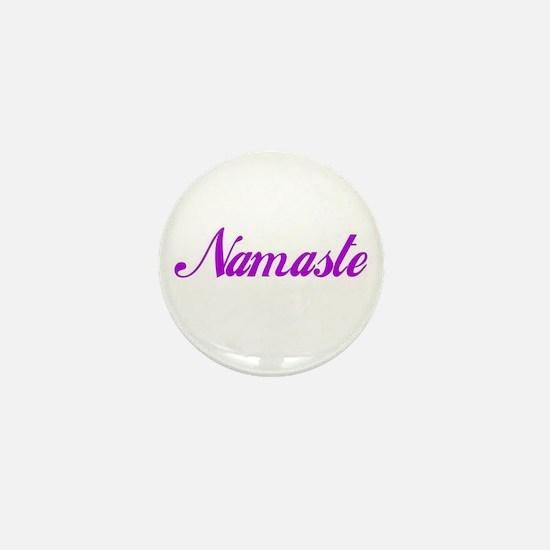Ten Lucky Namaste Mini Buttons