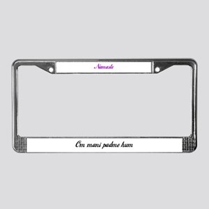 Mantra License Plate Frame