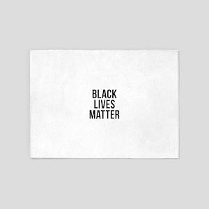 Black Lives Matter 5'x7'Area Rug