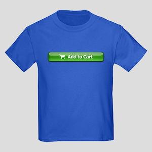 Add To Cart Kids Dark T-Shirt