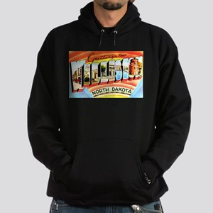 Williston North Dakota Greeti Hoodie (dark)